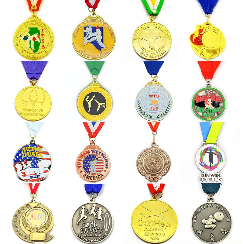 Medal Manufacturer Direct Sale Wholesale Gold Running Medal