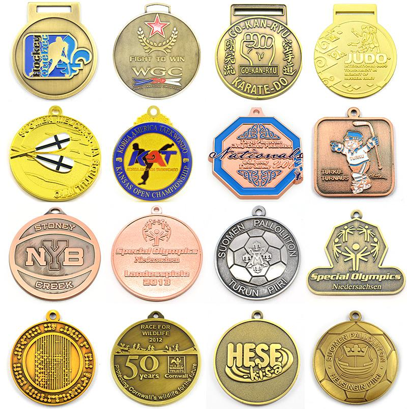 antique gold medals and trophies