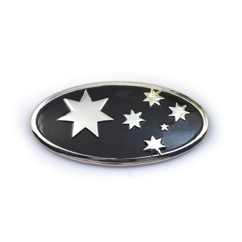 Plated Car Grill Badges