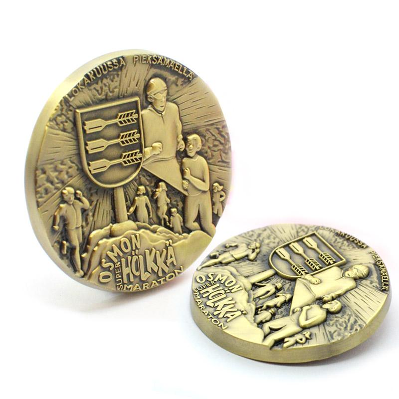 custom bulk Metal Antiqu Coin