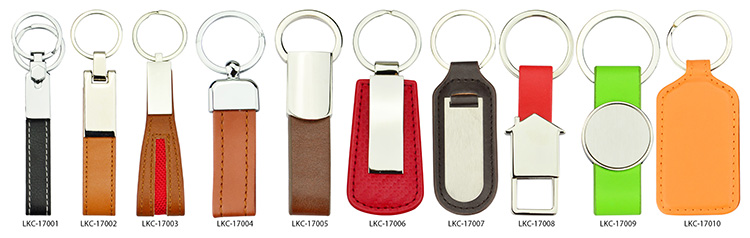 Keychain Metal And Leather