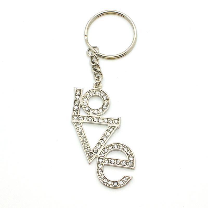 Custom Bulk Metal Jewelry Monogram Key Chains Wholesale