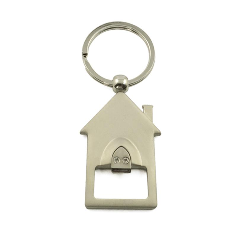 wholesale keychain house shaped keychain