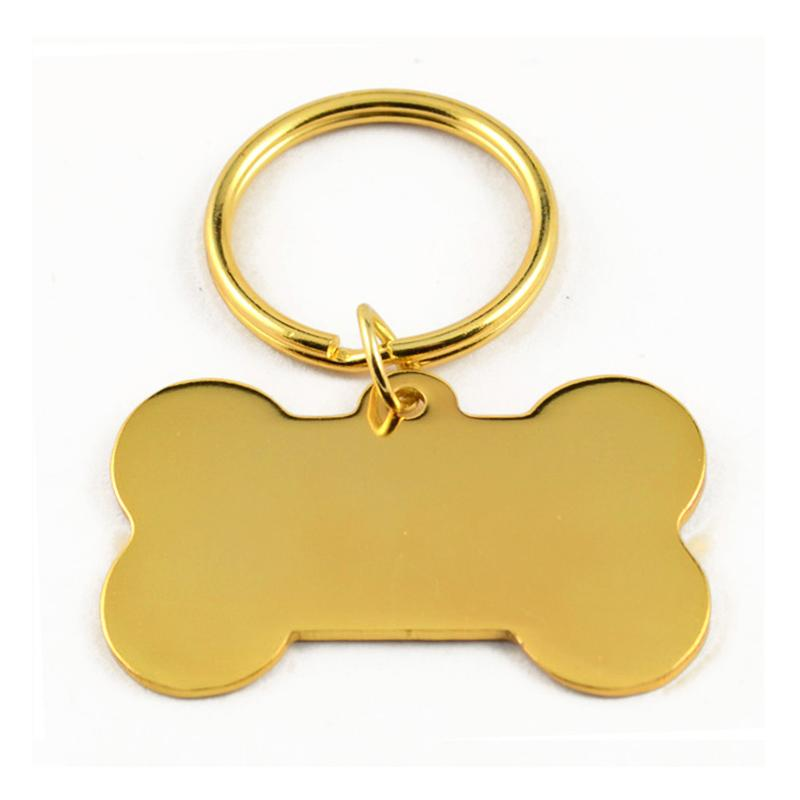 metal plated gold keychain