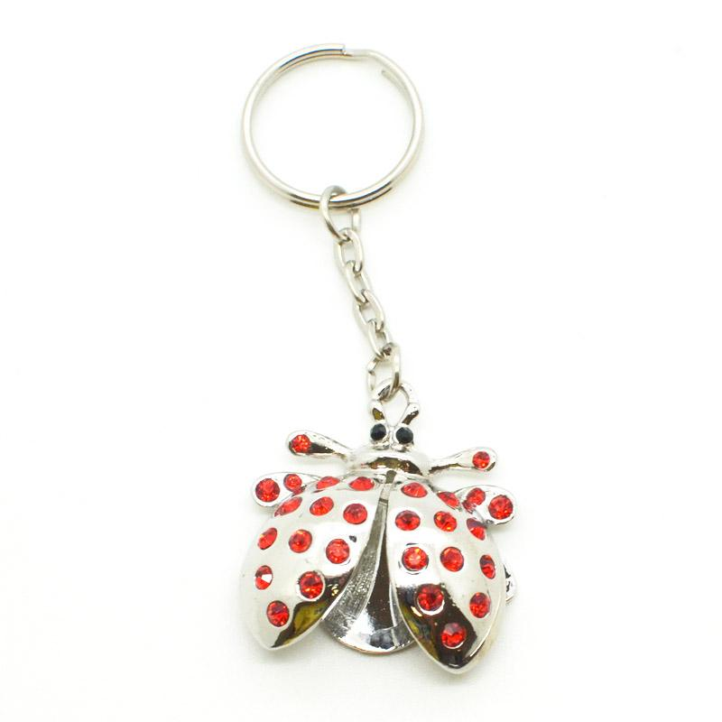 3d metal insect keychain wholesale