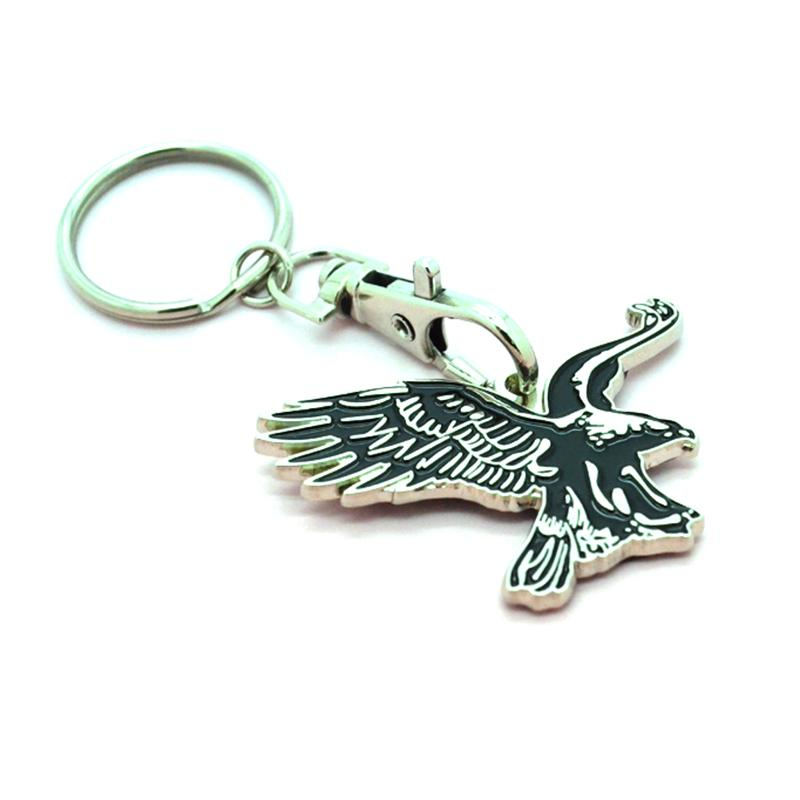 artigifts custom your own metal eagle key chains