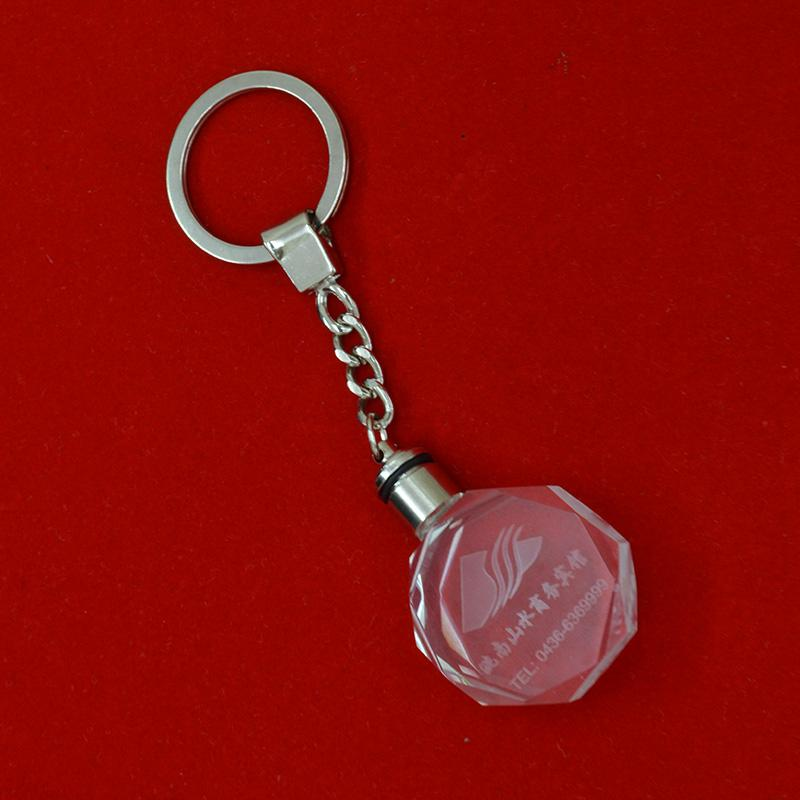 factory crystal keychain
