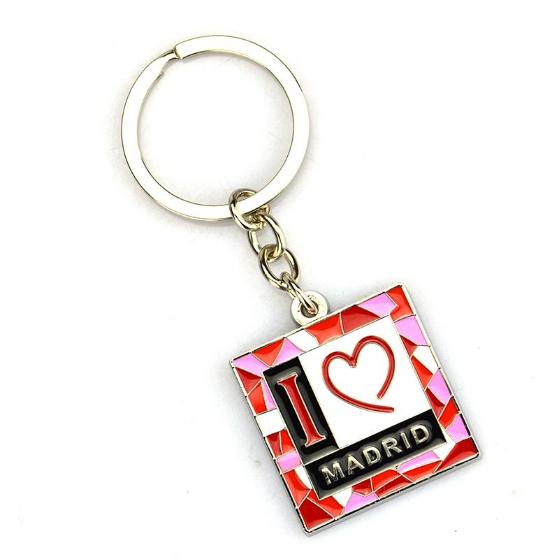 Factory Custom Metal Souvenir Florida Keychains