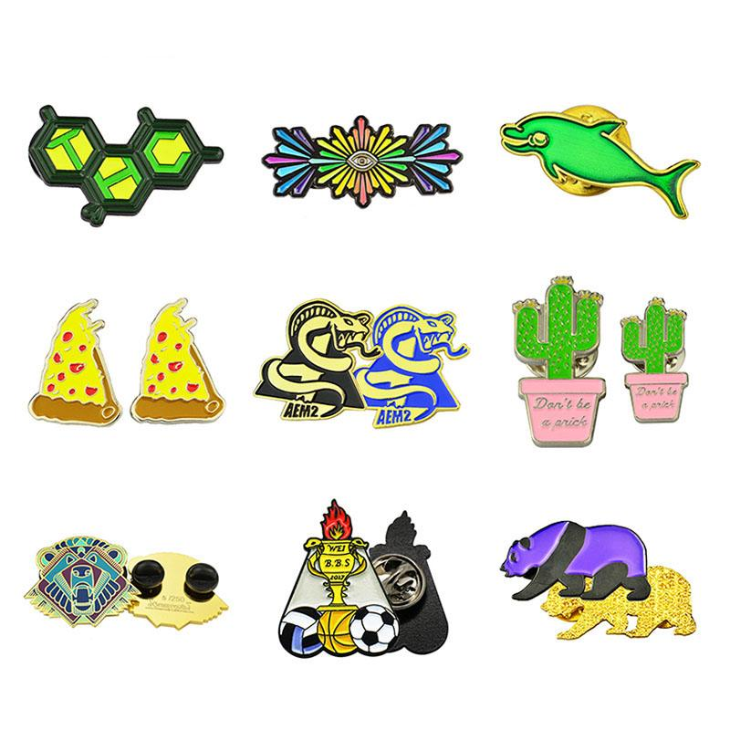 Wholesale Enamel Pin Badges Custom