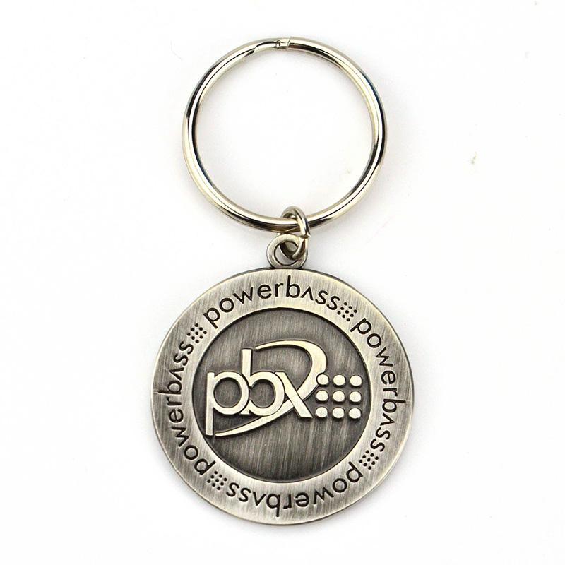 Wholesale Keychains Customized No Minimum Keyring Designer - Metal
