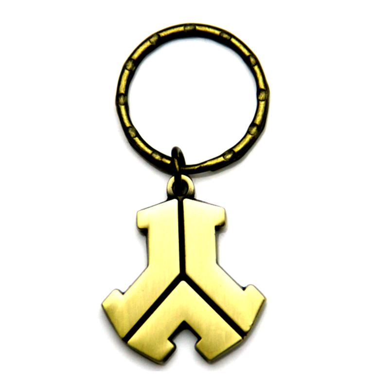 Custom Car Key Ring Brass