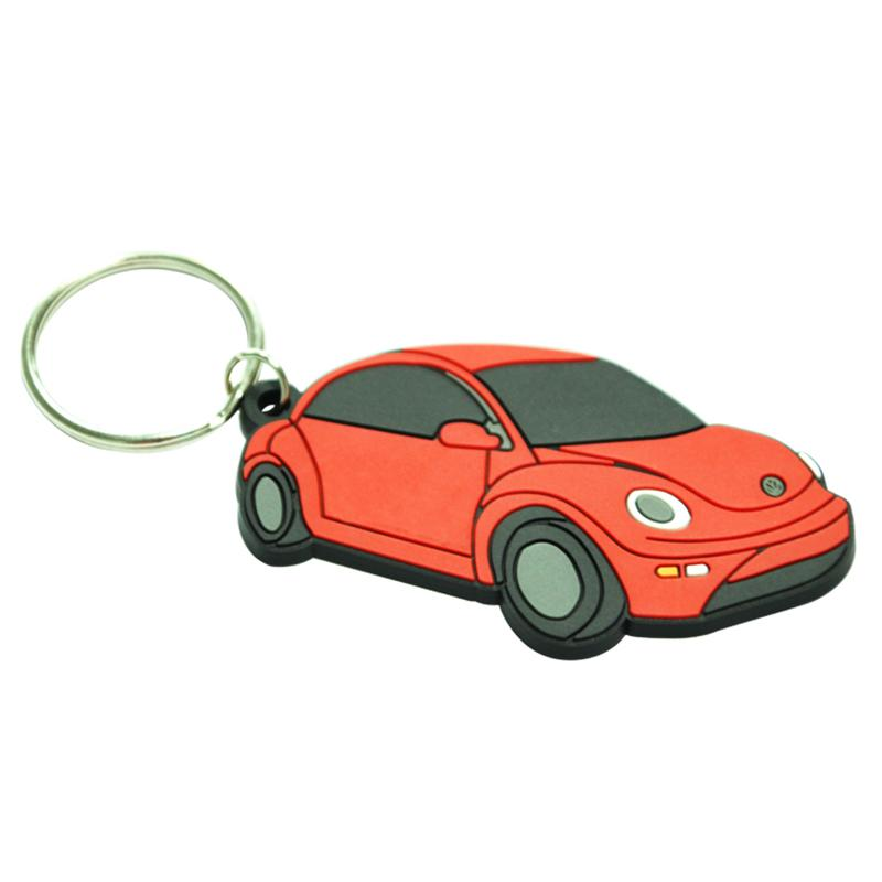 Pvc Key Chain Custom Rubber Keychain