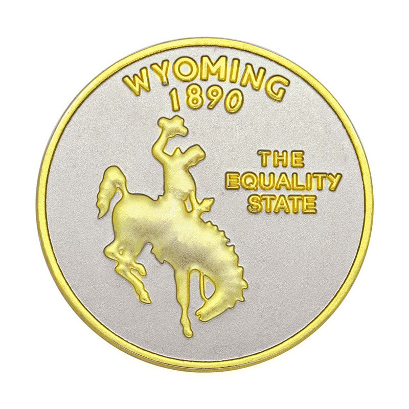 Tungsten Gold Coin