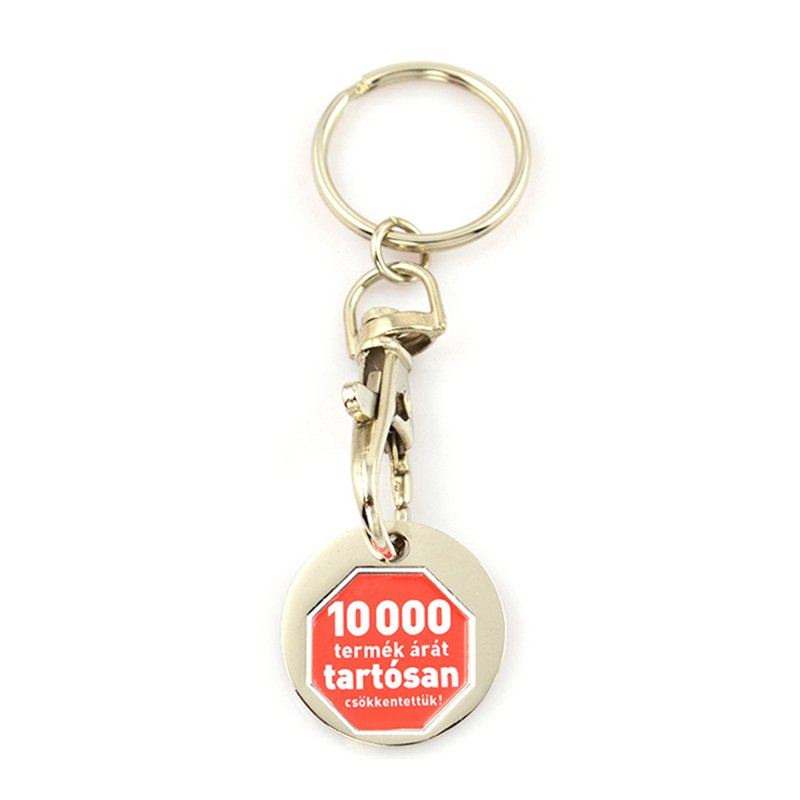 Keychain Metal With Coin