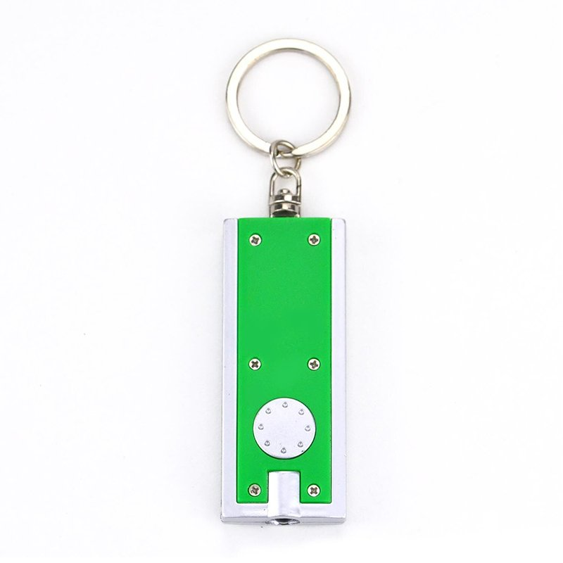 Led Keychain Metal Light Keyring