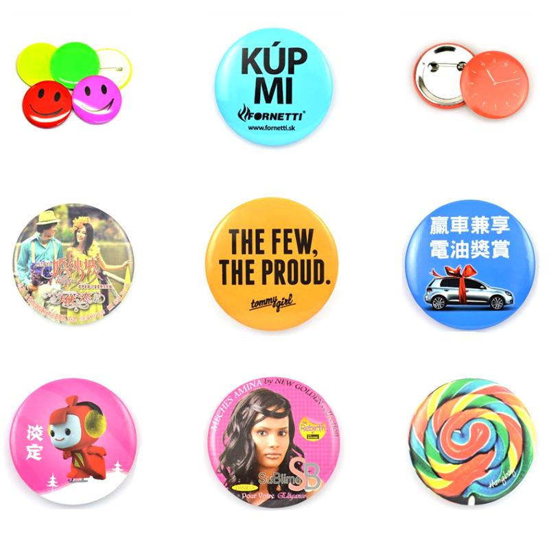 Tin Button Badge Pin Buttons