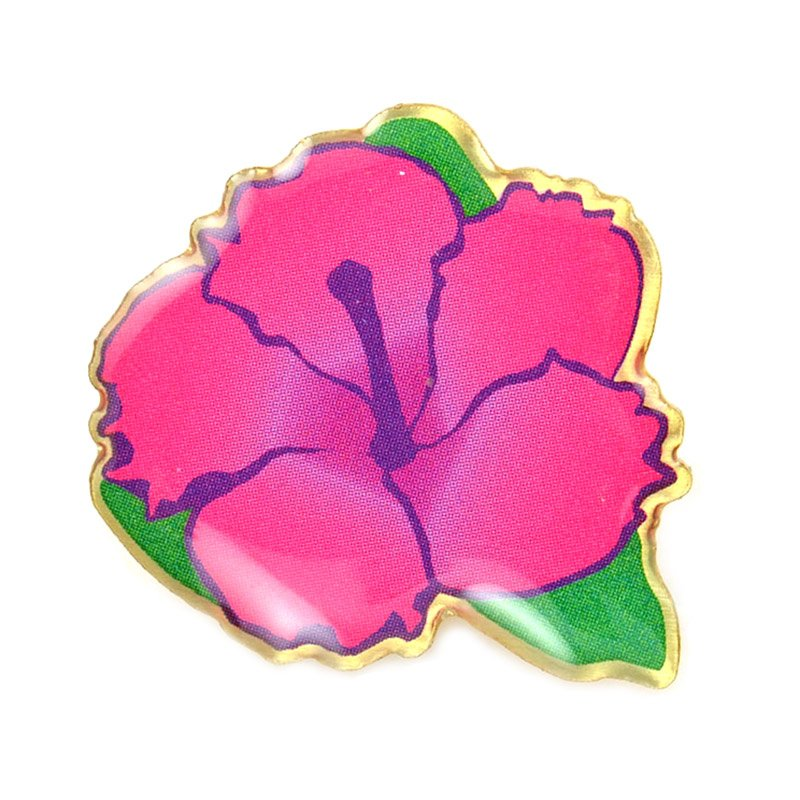 Metal Lapel Flower Pin