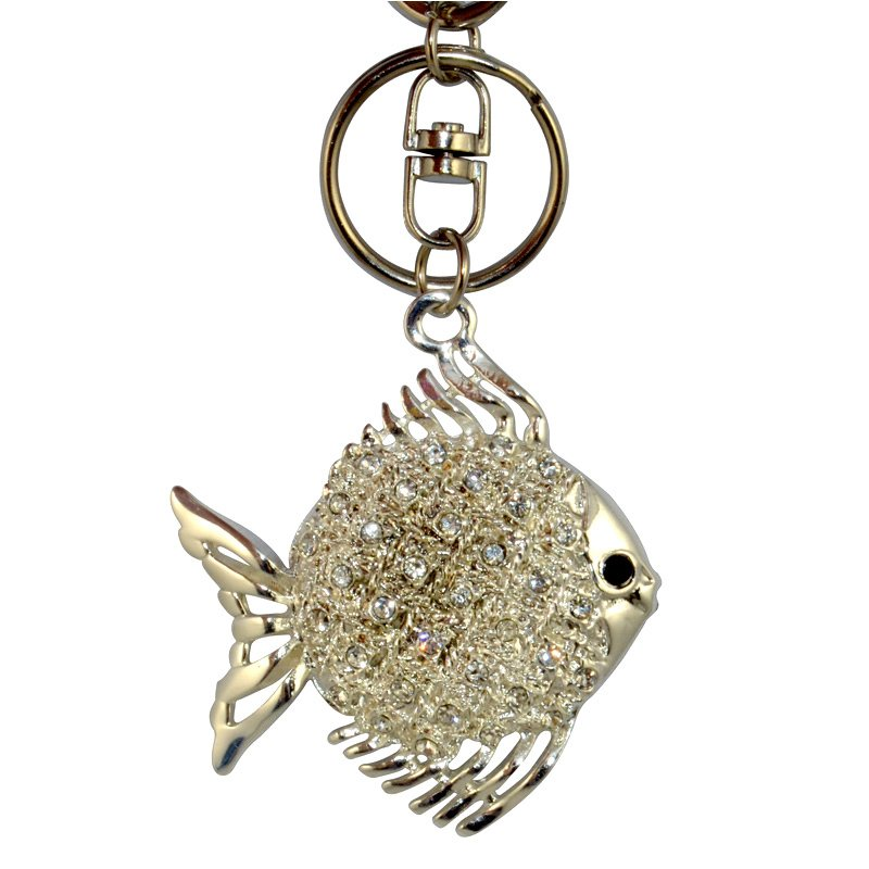 Custom Metal Keychain Diamond