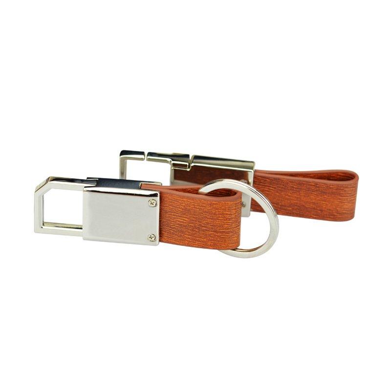 Personalized Key Chain Leather Keychain Custom Pu Keyring