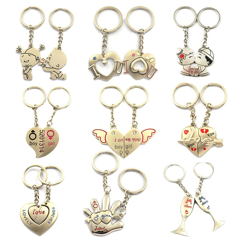 Personalized Keychains For Couples