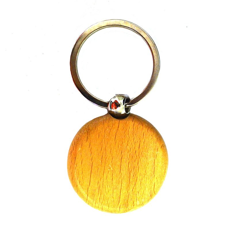 Wooden Keyring Blanks Wholesale