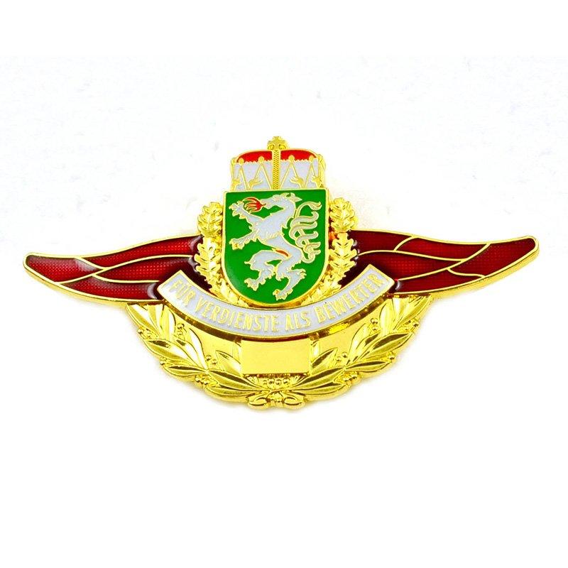 Enamel Badge Makers Custom Bulk Pilot Wings Pin Badges - Pin