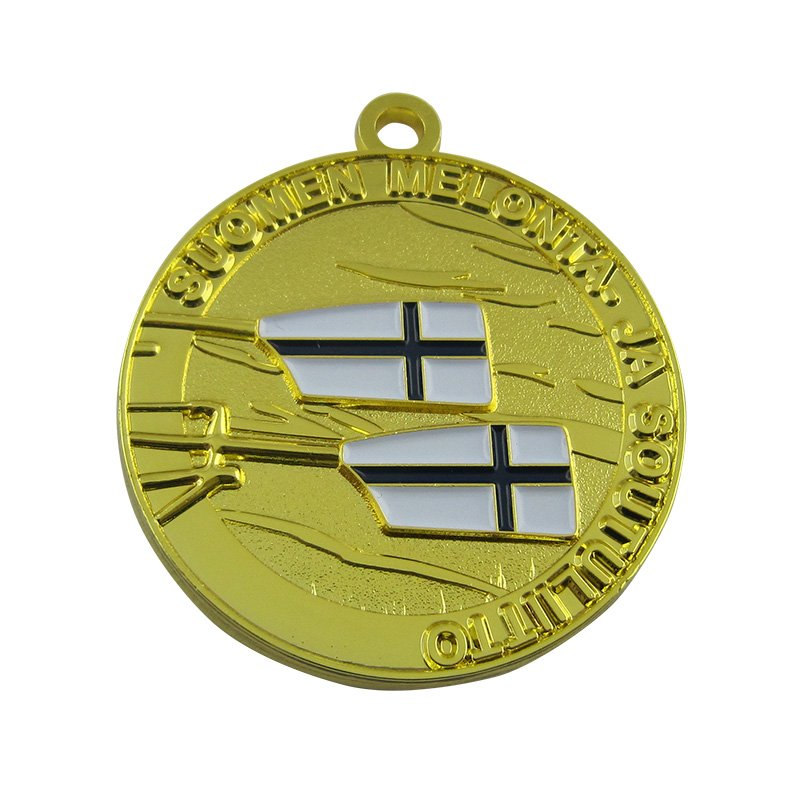 Wholesale Medal Custom Made Sports Metal Gold Medals - Medals