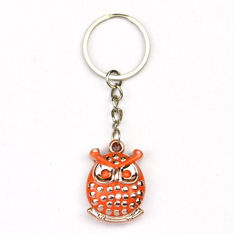 Owl Key Holder Custom Rhinestone Keychain