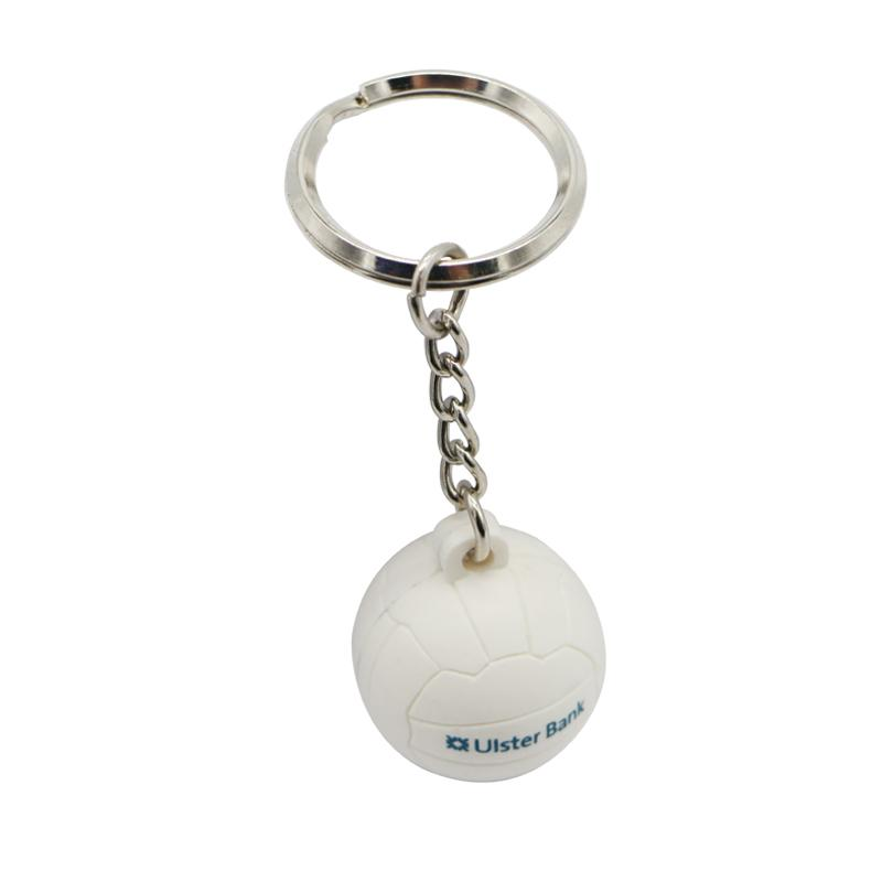 Keychain Volleyball 3D Soft Pvc Key Chains