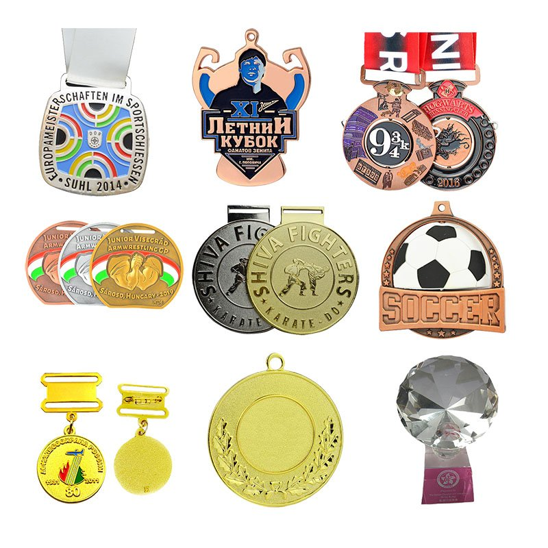 Custom Germany Medal Gold Medals With Lanyard