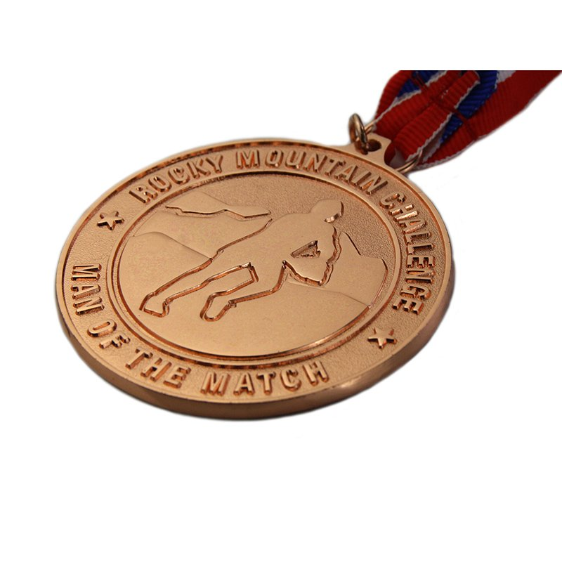 Make Medals Custom Sprots Metal Copper Medallion