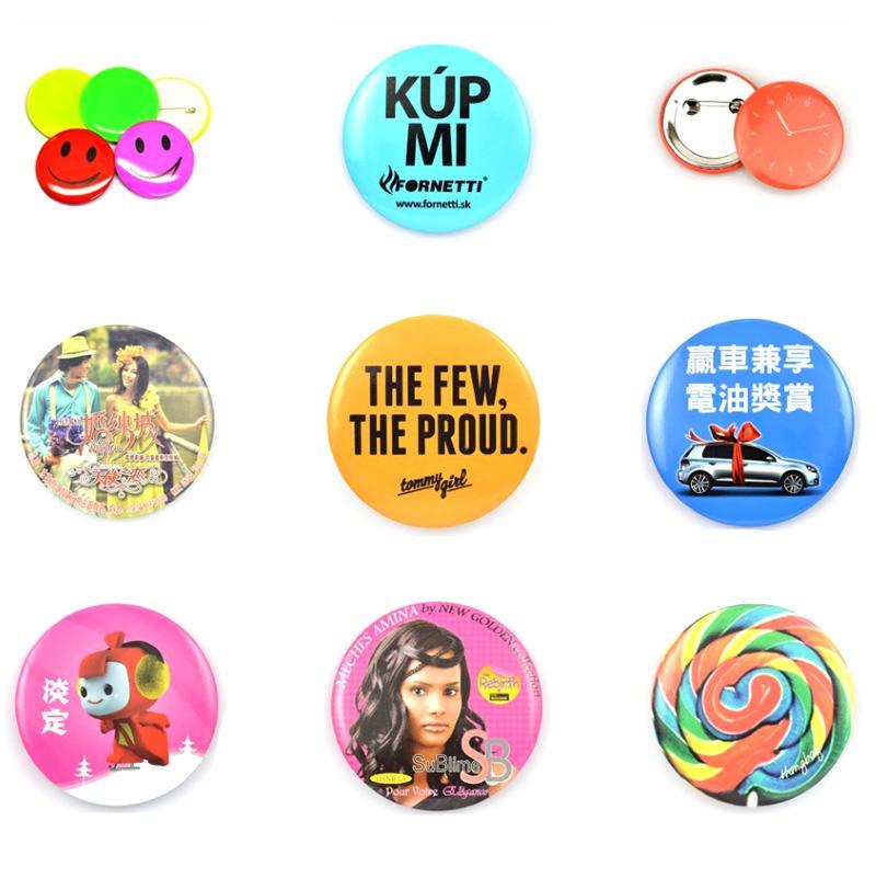 Blank Pin Button Badge Parts Tin Badges Pin