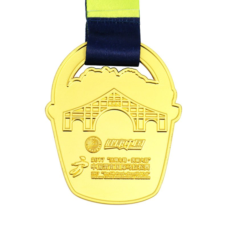 Custom-Made Medallion Metal Gold Medals