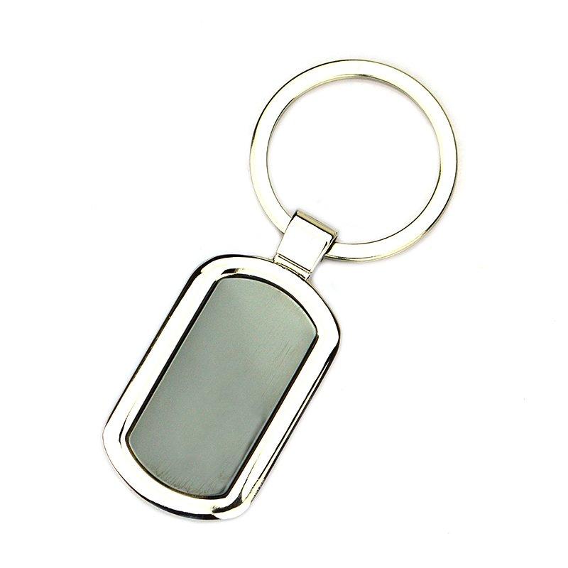 O Ring Keychain Custom Metal Blank Key Chains