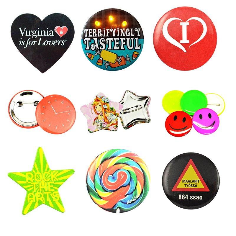 Button Badge Pins Custom Tin Badge