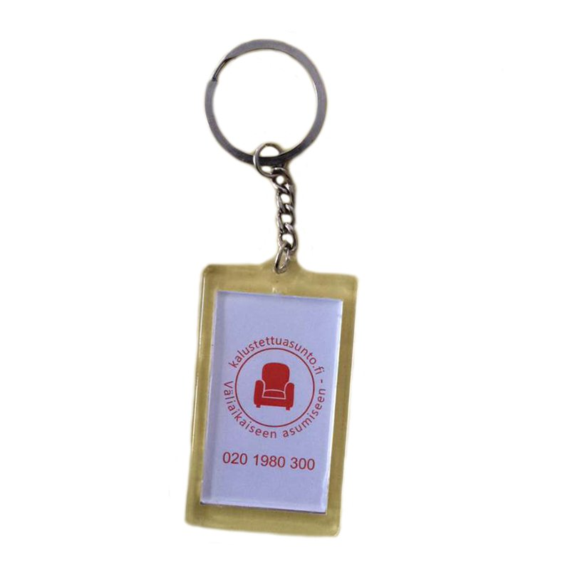 Personalized Photo Keychains Acrylic Key Rings Chain