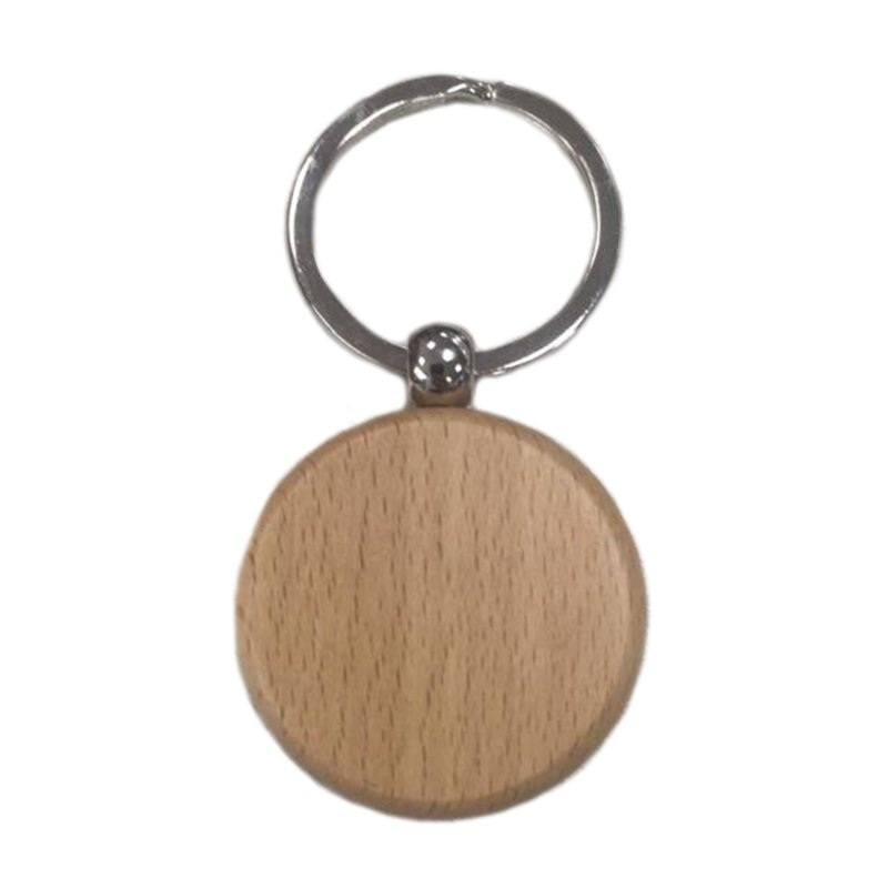 Wood Keychain Custom Wooden Key Chains Ring With Name