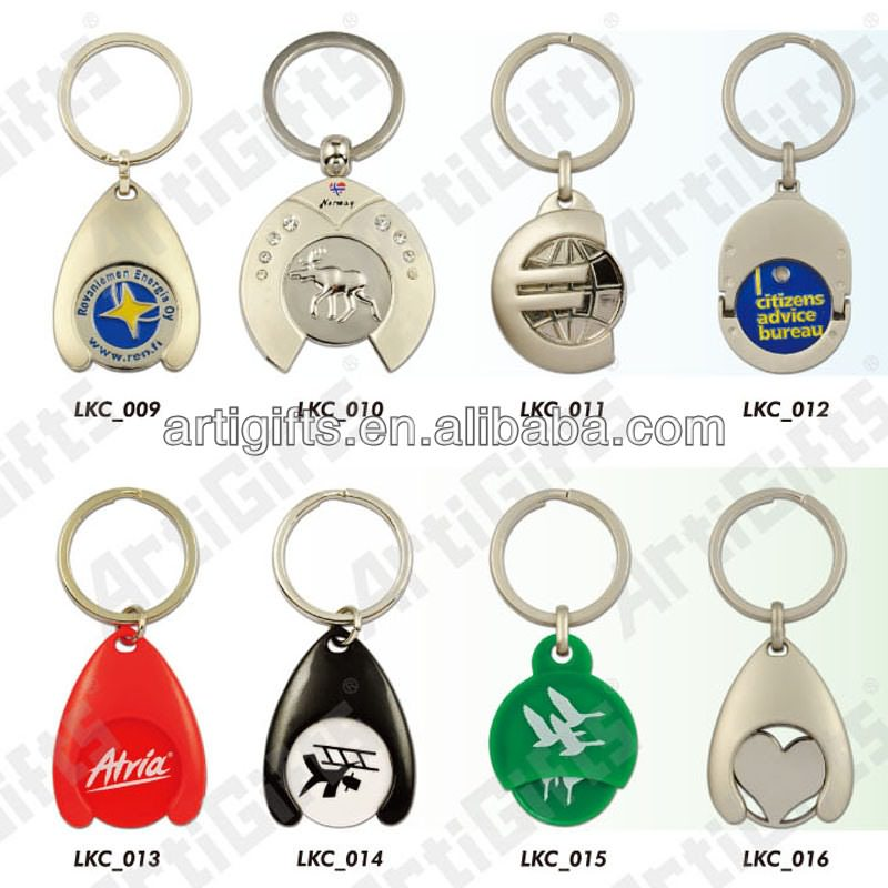 coin holder keychain