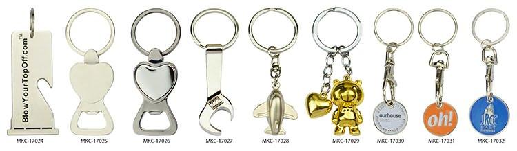Metal cool keychains