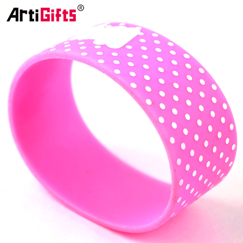 China wholesale bracelet fashion silicone wristband