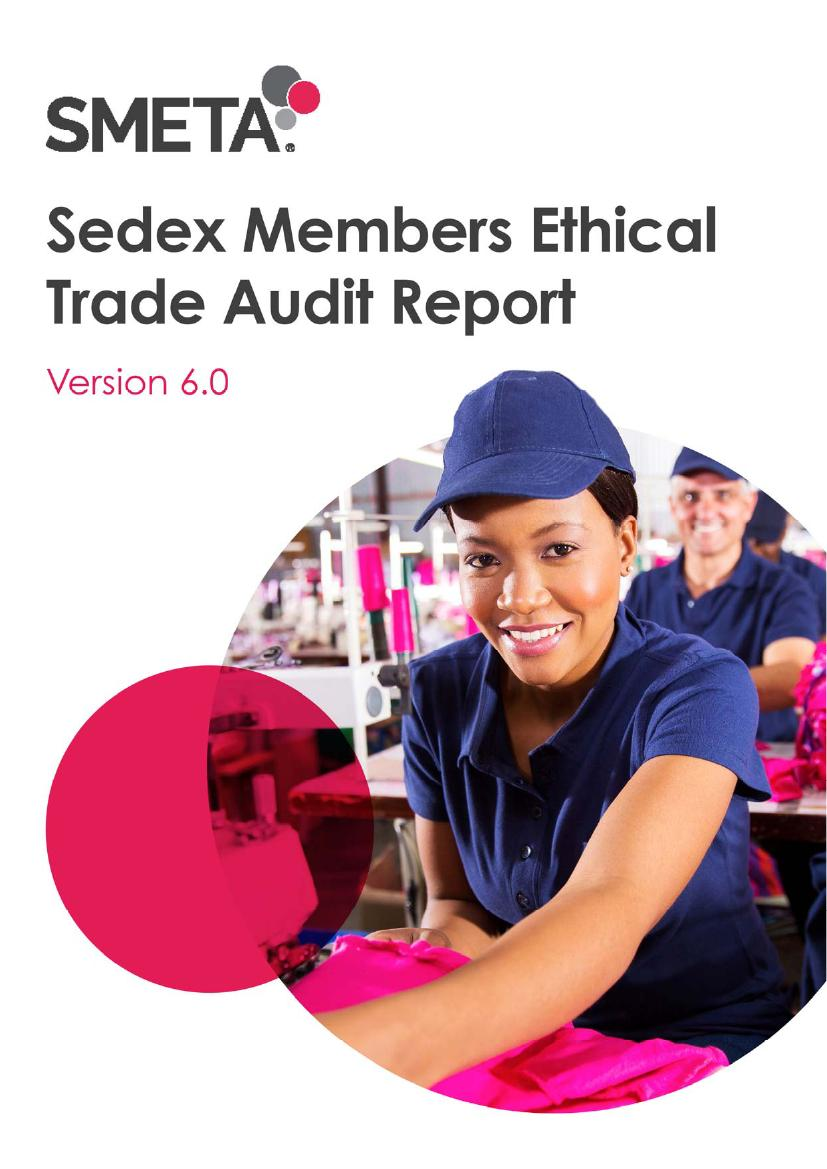 Sedex Members Ethical Trade Audit Report0000