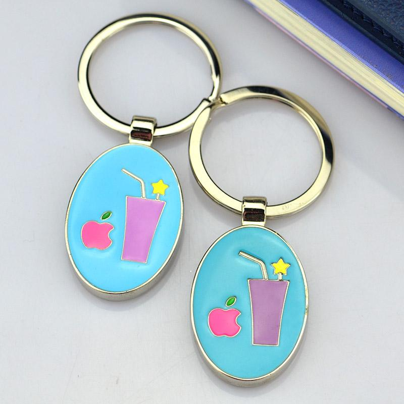Wholesale china quality custom personalised keyrings