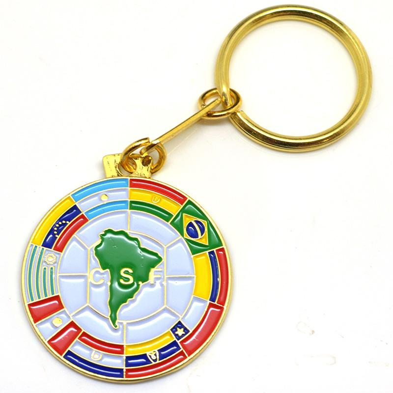 China factory supply cheap Personalised Keychains