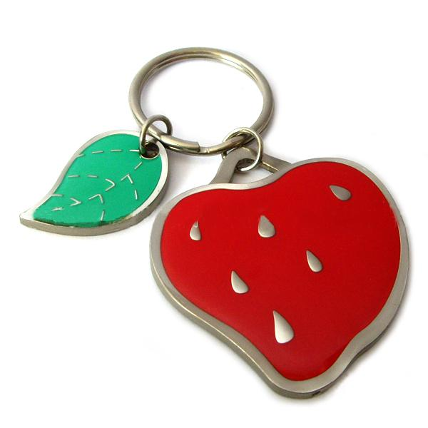 Wholesale promotion cheap metal keychain charms