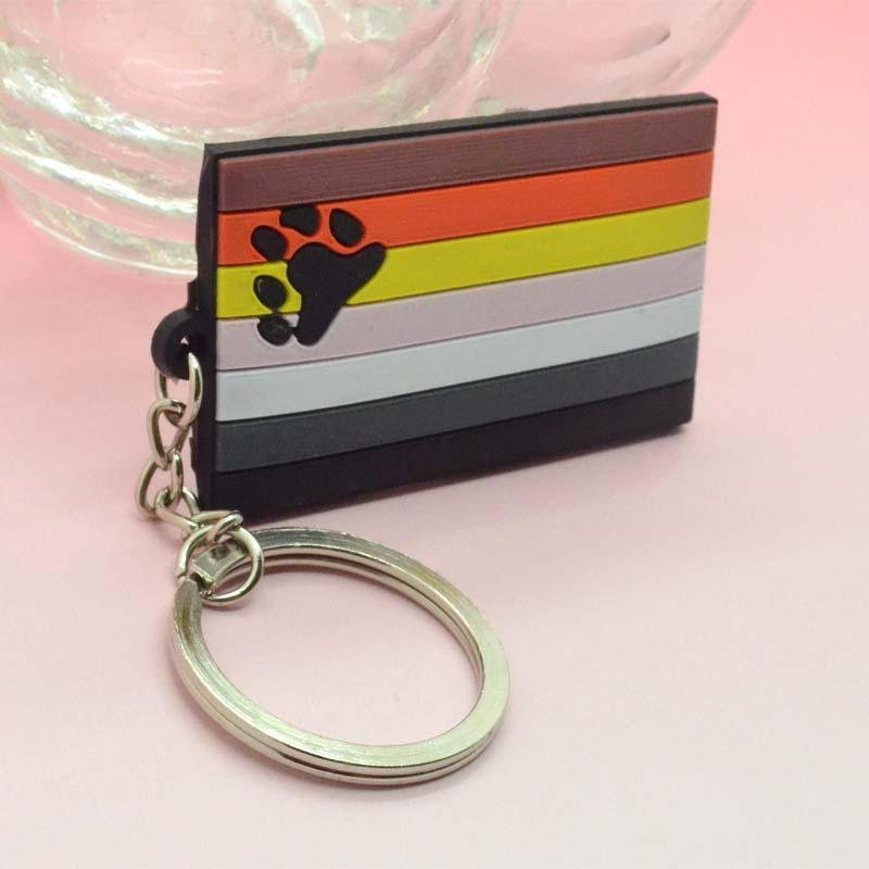 Wholesale cheap custom pvc rubber keychain
