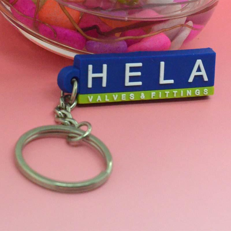 Soft pvc keychain with custom logo