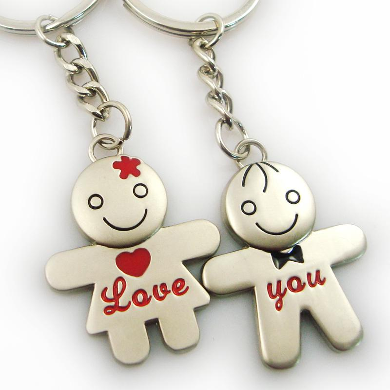 I hate people except you i fucking love you keychain funny
