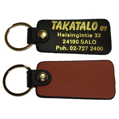 Cheap custom printed leather  keychain