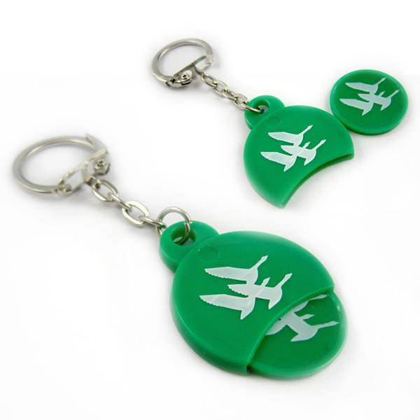 Wholesale fashion key chain coin holder manufacturer