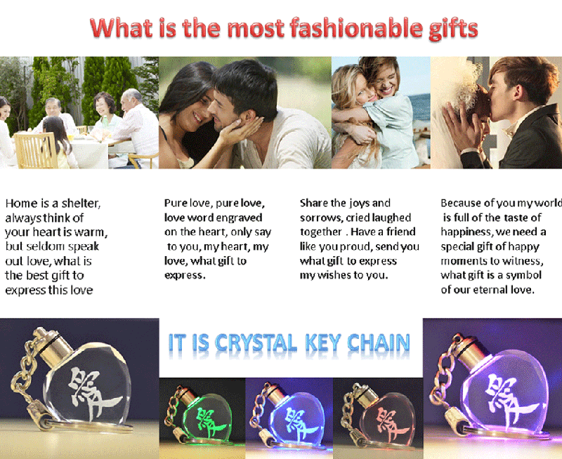 Crystal Keyring Wholesale Lucite Keychains
